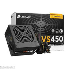 CORSAIR VS450 8PIN (4+4) 450 W 80+ 34 Amp PCI-E Alimentatore CP-9020096-UK