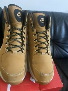 Nike Manoa Leather 454350-003 Biege Men's Trainers Hiking Trail Boots UK 10