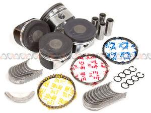 Pistons 20mm Wrist Pin Main Rod Bearings fit 99-04 Volkswagen Audi Turbo 20V 1.8