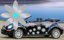 64 silver daisy flower voiture stickers, autocollants, voiture graphiques, Daisy STICKERS