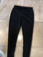 Women's Black Ruched Butt Lifting Stretchy Leggings Textured Booty- size XL