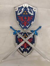 Twin SET Zelda Memery Foam Blade Skyward True Master Sword With Shield