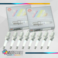 Set of 8 NGK 1465 IZTR5B11 Laser Iridium Spark Plugs Made in Japan GENUINE