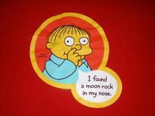 Ralph Wiggum Moon Rock in My Nose Simpsons Red Delta T-shirt Men's Medium used