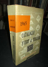 Catalogue Yvert & Tellier 1965 - Timbres d'Outre-Mer- Tome III
