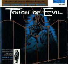 CD Touch Of Evil Original Soundtrack L'infernale Quinlan Orson Welles Film Ost