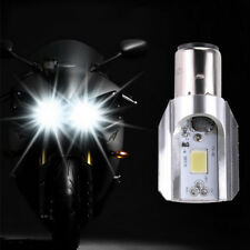 1PCS White H6 BA20D DC 9V-85V 12W COB LED Motorcycle Hi/Lo Beam Headlight Bulb