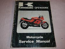 1985 85 KAWASAKI GPZ1000RX GPZ 1000 RX SHOP SERVICE REPAIR MANUAL