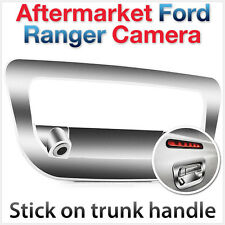 Ford Ranger T6 PX Reverse Rear View Parking Backup Camera Trunk Handle Cover Car