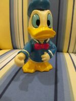 VINTAGE DONALD DUCK  BANK COLORFUL MADE IN HONG KONG