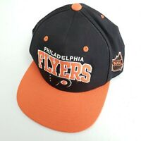 Philadelphia Flyers Mitchell & Ness Retro Snapback Cap Hat Spell Out Logo NHL