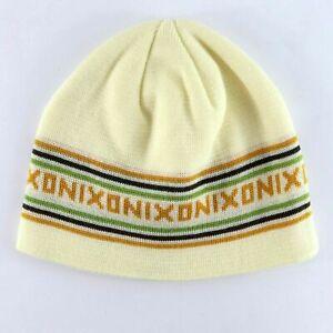 Nixon In Beanie Hat Off White One Size Beanie Hat