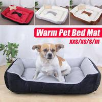 Pet Dog Cat Bed Puppy Cushion House Warm Sofa Mat Pad Blanket Washable w/  *
