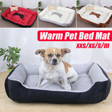 Pet Dog Cat Bed Puppy Cushion House Warm Sofa Mat Pad Blanket Washable w/