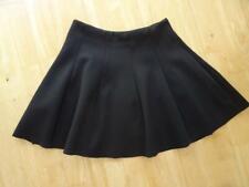 TOPSHOP ladies black skater circle skirt UK 10 EXCELLENT CONDITION