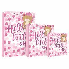 New Baby Girl Spot Medium Bag Pink Girls Newborn Gift