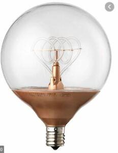 NITTIO decorative LED bulb E14 copper-coloured 95 mm   IKEA Lighting 203.172.44