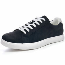 Alpine Swiss Ben Mens Perforated Low Top Sneakers Casual Lace Up Tennis Shoes
