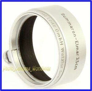 LEICA 12505R / Leitz FOOKH Summaron-Elmar 3.5cm fit Lens Hood by LEITZ Wetzlar