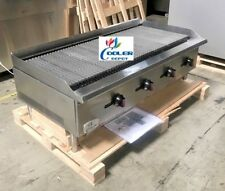 New 48 Commercial Radiant Broiler Char Grill Shawarma Restaurant Nsf Cd Rb48