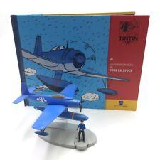 En Avion Tintin l'hydravion bleu coke en stock  N4 livret