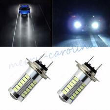 H7 DC 5630 White 660LM 33 LED Light Car Fog Head Light Driving Bulbs 6000-8000K