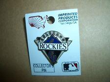 Vintage 1988 Colorado Rockies Official MLB Baseball Enamel Metal Lapel Pin-RARE!