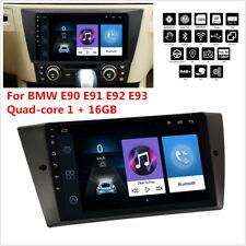 """Para BMW E90 E91 E92 E93 9"""" Android 9.1 cuatro núcleos 1 + 16GB radio estéreo de coche GPS"""