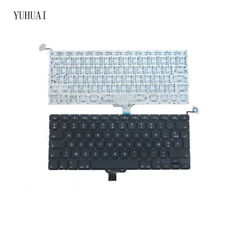 """New For Apple Macbook Pro 13.3"""" A1278 FR french clavier Keyboard Year 2009-2012"""
