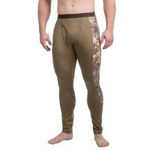 Browning Riser Hunting / Fishing Base Layer Camo Pants Bottoms - Size XL - NEW!