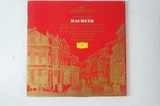Verdi Macbeth Claudio Abbado Scala Domingo Verrett Cappuccilli Ghiaurov (LP25)