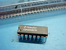 (5) FSC CD4060BCN 14-STAGE RIPPLE CARRY BINARY COUNTER 16-PIN DIP