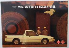Used Holden Commodore 1993 VR Ute Sales Brochure V6 & V8  Memorabilia