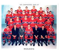 1966 1967 MONTREAL CANADIENS 8X10 TEAM PHOTO HOCKEY NHL CANADA