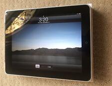 Collectors Item - 1st Generation Apple iPad 16GB Wi-Fi + 3G Unlocked - Black