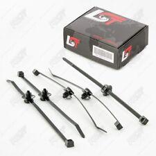 5x Elektrokabel Elektrik Kabelbinder mit Clips für AUDI 100 200 A3