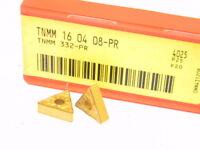 NEW SURPLUS 10PCS. SANDVIK  TNMM 332-PR  GRADE: 4025  CARBIDE INSERTS