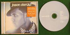 JASON DERULO....SELF TITLED AUSTRALIAN PRESSING  CD WITH BONUS TRACK STROBELIGHT