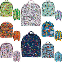 Backpack Rucksack School Nursery Travel Bag  Boys Girls  Zipped Compartments