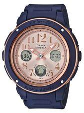 Casio Baby-G * BGA150PG-2B1 Navy and Rose Gold Anadigi Watch COD PayPal