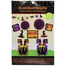 10pc Halloween Streghe Crew Calderone Camera Kit di Decorazione Confezione Festa