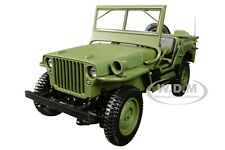 1942 JEEP GREEN 1/18 DIECAST MODEL CAR BY NOREV 189013