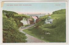 Tyne & Wear postcard - The Glen, Roker Park, Sunderland