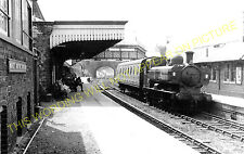 Market Drayton Railway Station Photo. Tern Hill to Adderley. (3)