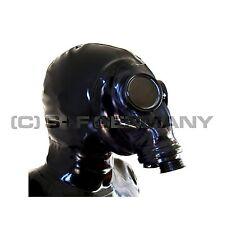 Lattice maschera DELUXE FETISH LATEX antigas N cappa F. CATSUIT TUTA tutta Guanti