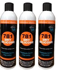 Package of 3 V&S #781 Premium Dry Silicone Spray Lubricant