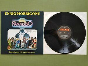 ENNIO MORRICONE Nuovo Cinema Paradiso LP Vinile 33 giri Prima Stampa