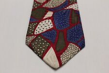 NORDSTROM - VINTAGE - MADE IN ITALY - ALL SILK NECK TIE!