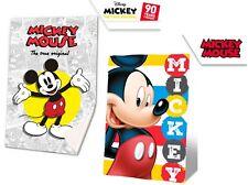 Disney Mickey Mouse Boy Kids Blanket Throw Warm Fluffy Coral Fleece Plush