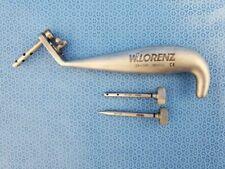 W Lorenz Biomet 24 1140 Microfixation 24mm Trocar Handle With Instruments